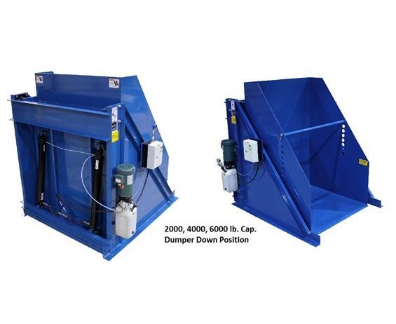 ENDURA-VEYOR HYDRAULIC BOX DUMPERS
