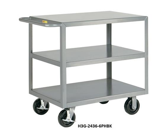 ALL-WELDED MULTI-SHELF TRANSPORT TRUCKS