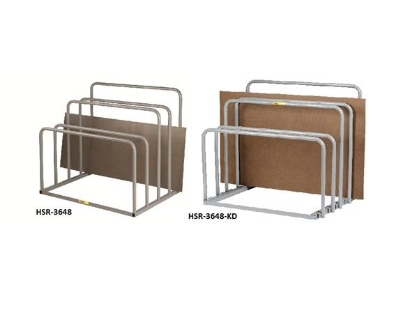 ALL-WELDED VERTICAL SHEET RACK