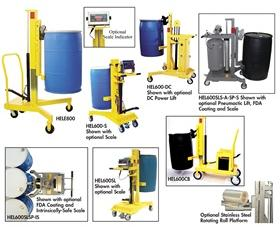 EASYLIFT™ DRUM AND ROLL TRANSPORTERS