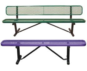 EXPANDED METAL BENCHES