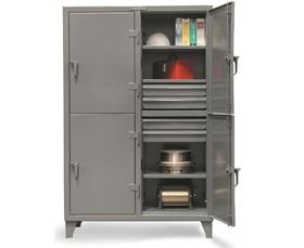 INDUSTRIAL LOCKERS WITH DRAWERS